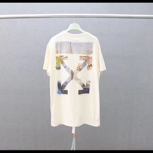 OFF-WHITE Monet Colored Arrows Tee